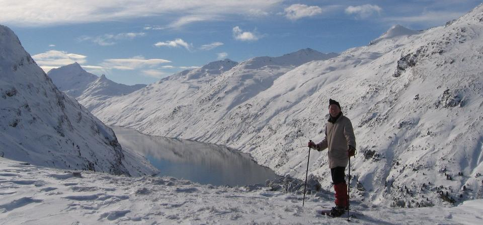 Lago di Lei im Winter